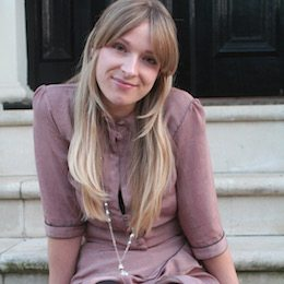 Image of Laura Robinson, Caboodle Style Founder, showing her feminine Personal Style in 2007