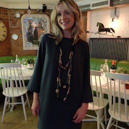 Image of Laura Robinson, Caboodle Style Founder, showing her Personal Style at 40 in 2016